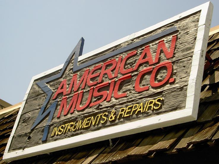 american music repair shop. Black Bedroom Furniture Sets. Home Design Ideas