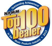 NAMM Top 100 Dealer Award