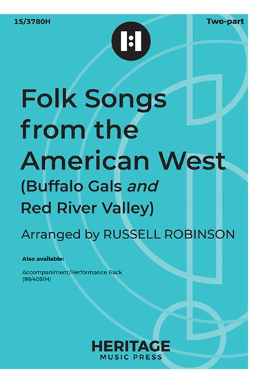 Picture of Folk Songs from the American West