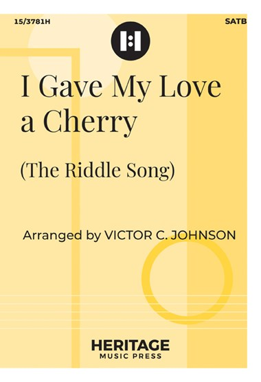 Picture of I Gave My Love A Cherry