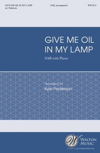 Picture of Give Me Oil In My Lamp