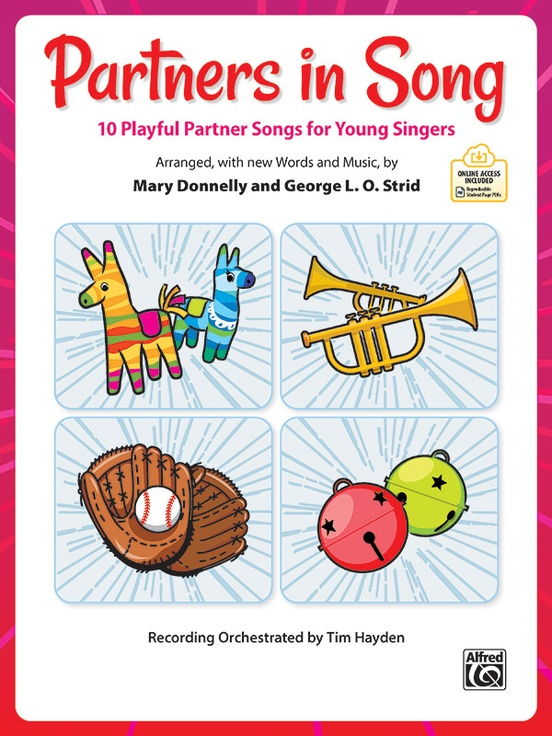 Picture of Partners in Song - 10 Playful Partner Songs for Young Singers