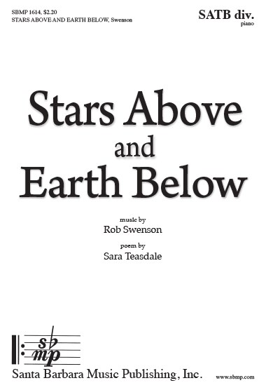 Picture of Stars Above and Earth Below