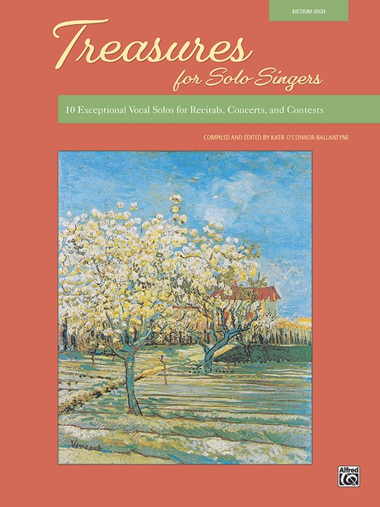 Picture of Treasures for Solo Singers - Book Only (Med High)
