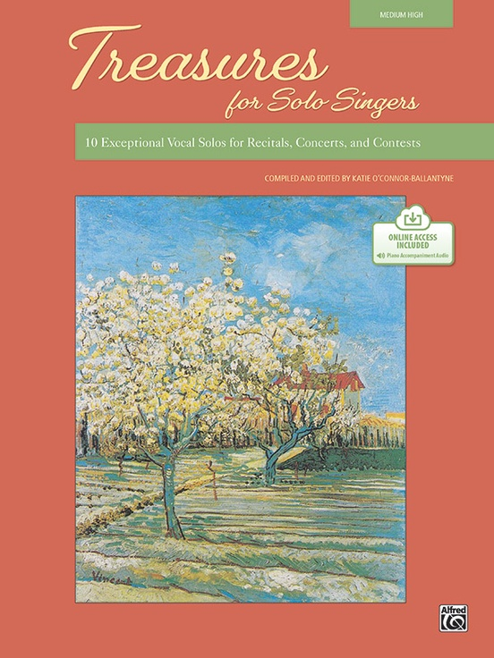Picture of Treasures for Solo Singers - Book & Online Audio (Med High)