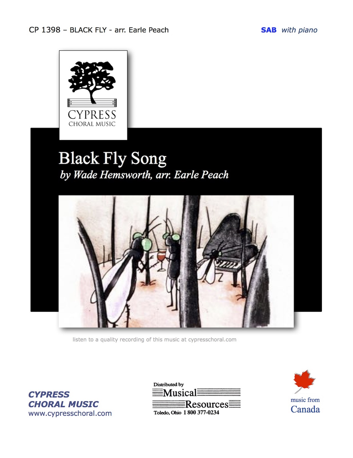 Picture of The Black Fly Song