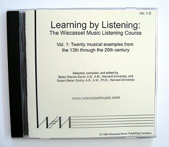 Wiscasset, Learning By Listening: The Wiscasset Music Listening Course Vol. 1