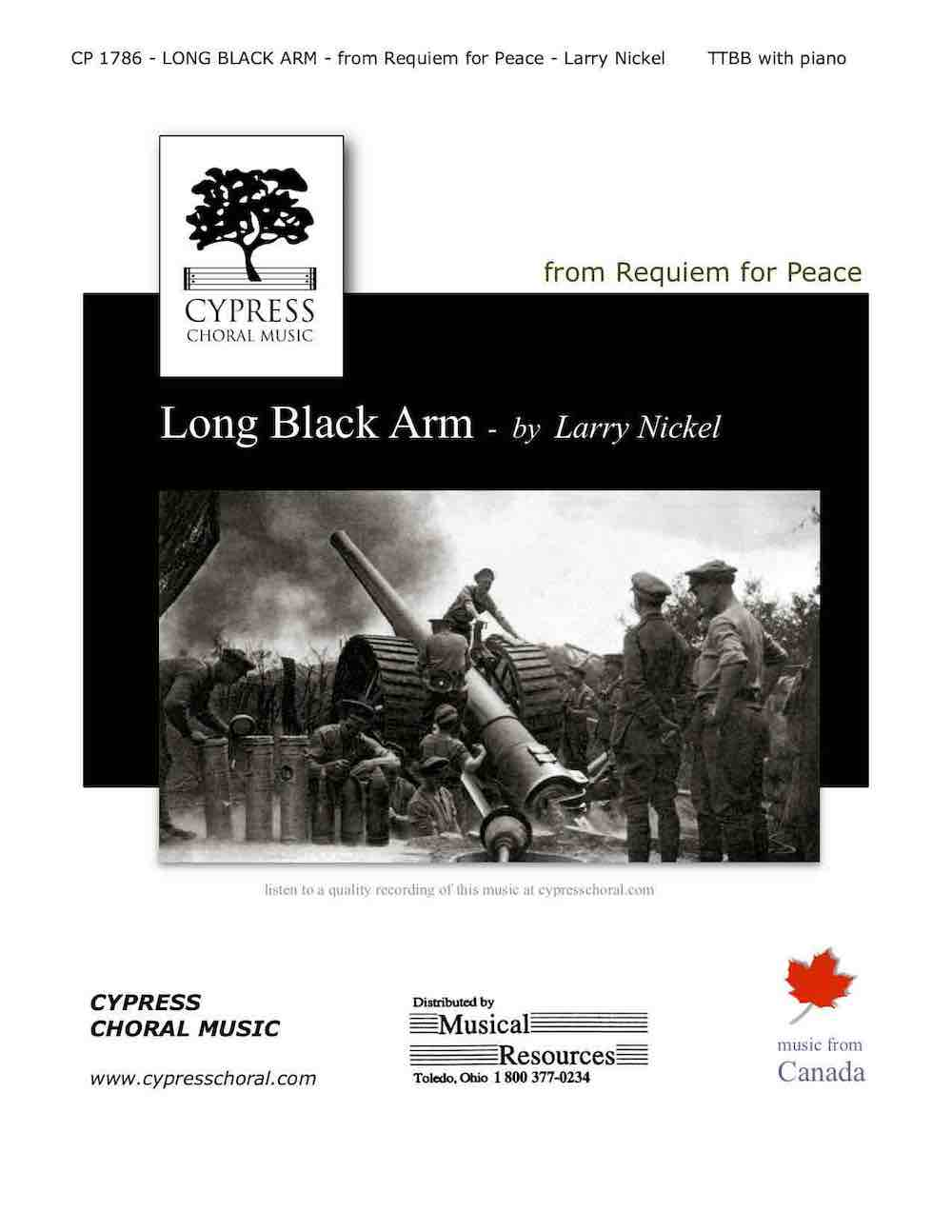 Picture of Long Black Arm