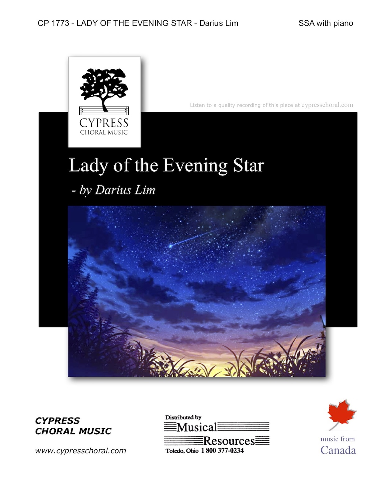Picture of Lady of the Evening Star