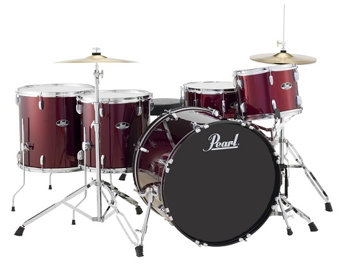 Pearl, Pearl Roadshow RS525WFC/C91 5PC Set in Wine Red