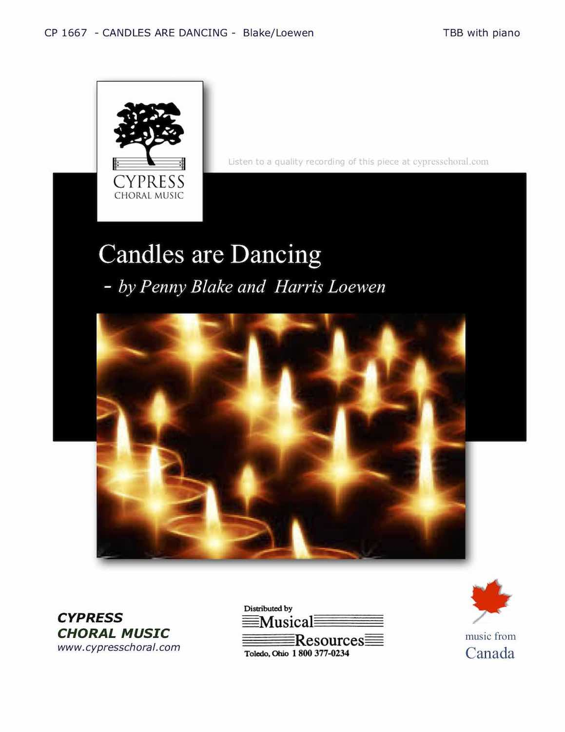 Picture of Candles Are Dancing