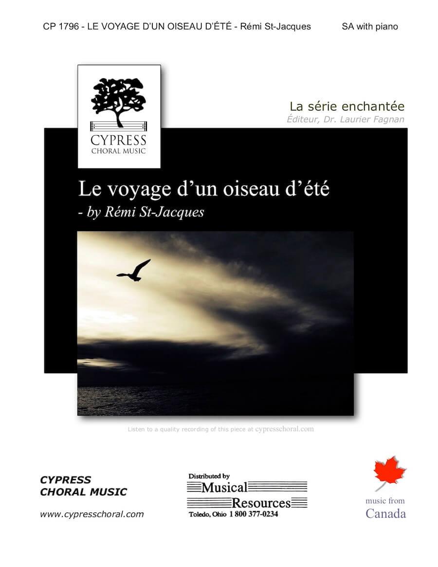 Picture of Le voyage d'un oiseau d'ete
