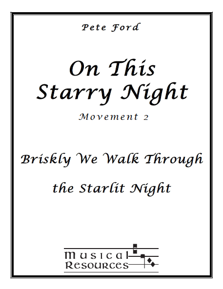 Picture of On This Starry Night Mvt. 2 - Briskly We Walk Through the Starlit Night