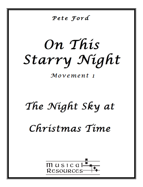 Picture of On This Starry Night Mvt. 1 - The Night Sky at Christmas Time