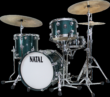 Natal Drums, Cafe Racer Traditional Jazz