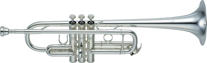 Brass trumpets band orchestra retail up music demo for Yamaha ytr 4335gs ii