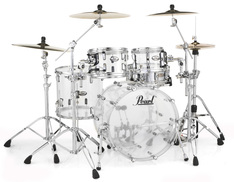 Pearl, Pearl Crystal Beat CRB524P/C730 Shell Pack in Ultra Clear