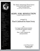 Picture of Hope For Resolution