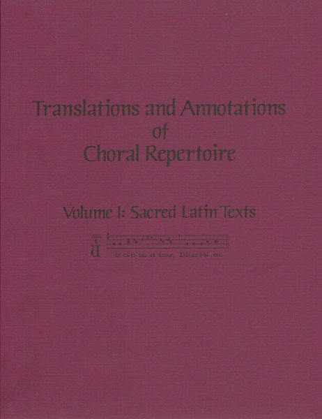 Picture of Translations & Annotations Vol. 1 - Latin (softbound)