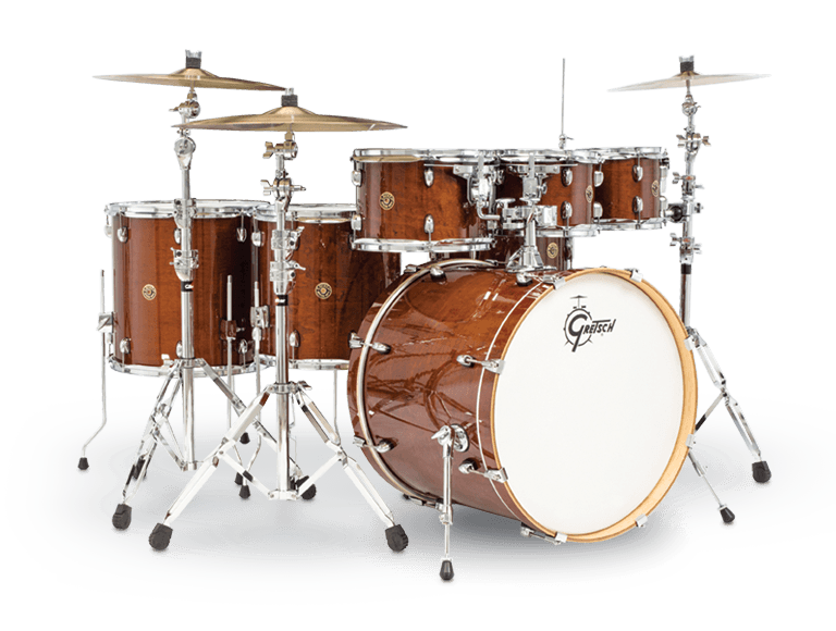 Gretsch Import, CATALINA MAPLE 7PC ROCK SHELL PACK WITH 22