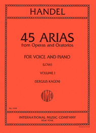 Picture of 45 Arias - Low Voice, Vol. 1