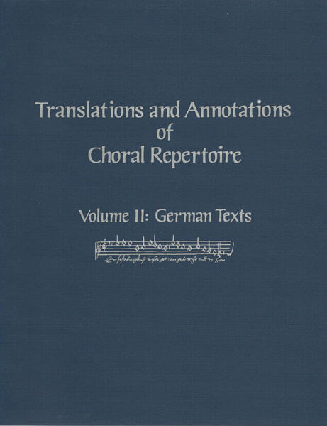 Picture of Translations & Annotations Vol. 2 - German (hardbound)