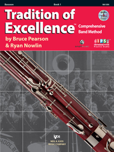 Tradition of Excellence Bk. 1 - Bassoon