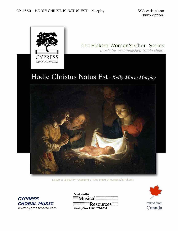 Picture of Hodie Christus Natus Est