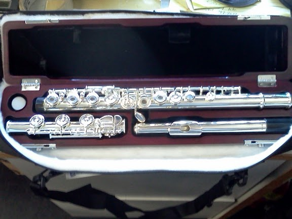 Palm Winds, PALM WINDS SOLID SILVER HEADJOINT FLUTE!