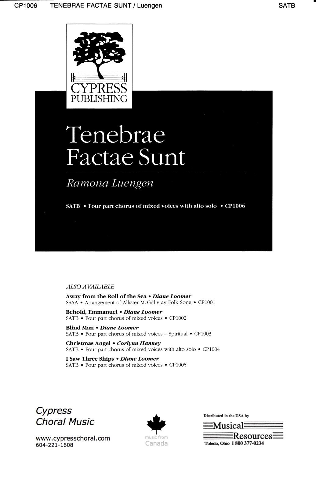 Picture of Tenebrae Factae Sunt