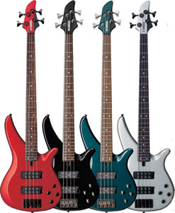 Yamaha RBX374 Bass Guitar The 5 String RBX375 And 4 Feature Same 3D Headstock Radically Contoured