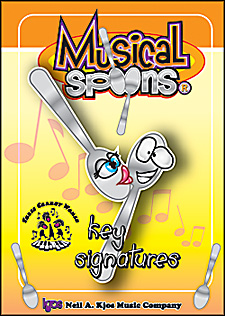 Kjos, Musical Spoons: Key Signatures