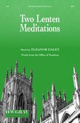 Picture of Two Lenten Meditations / Eleanor Daley