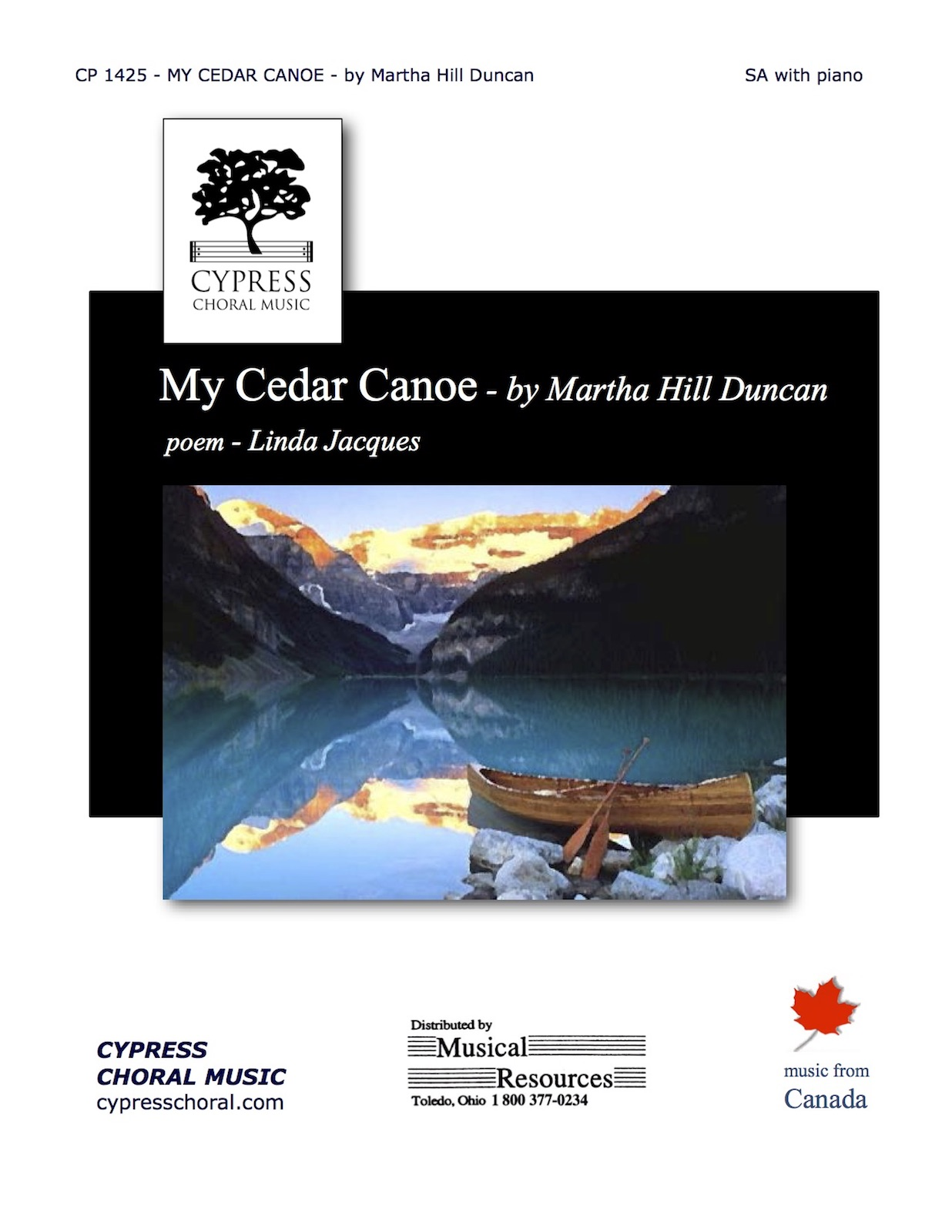 Picture of My Cedar Canoe