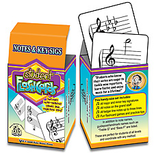 Kjos, TCW Student Flashcards: Notes & Key Signatures