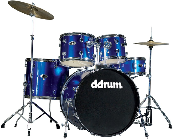 Ddrum, Ddrum D2 Series Drum Set, Police Blue