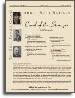 Picture of Carol of the Stranger