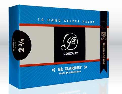 Store Products, Gonzales FOF #3.5 Clarinet Reeds-Bx-8th Grade