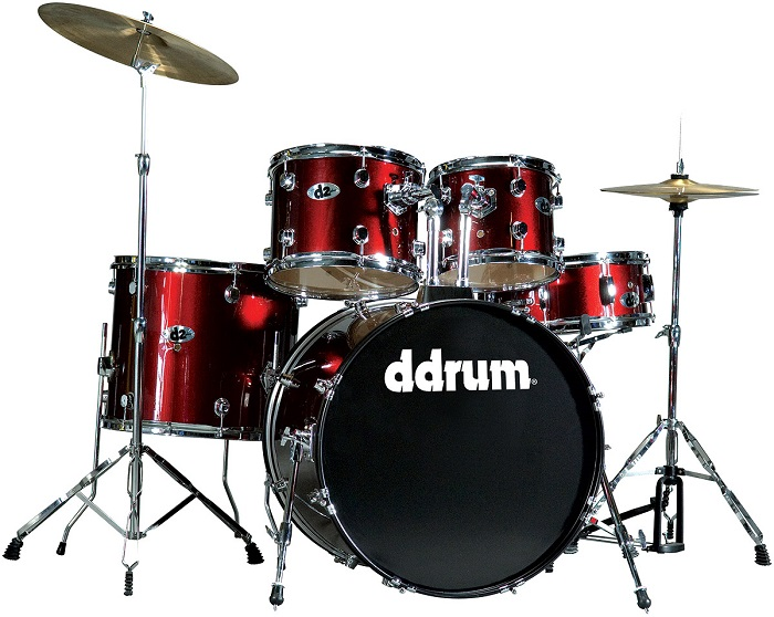 Ddrum, Ddrum D2 Series Drum Set, Blood Red