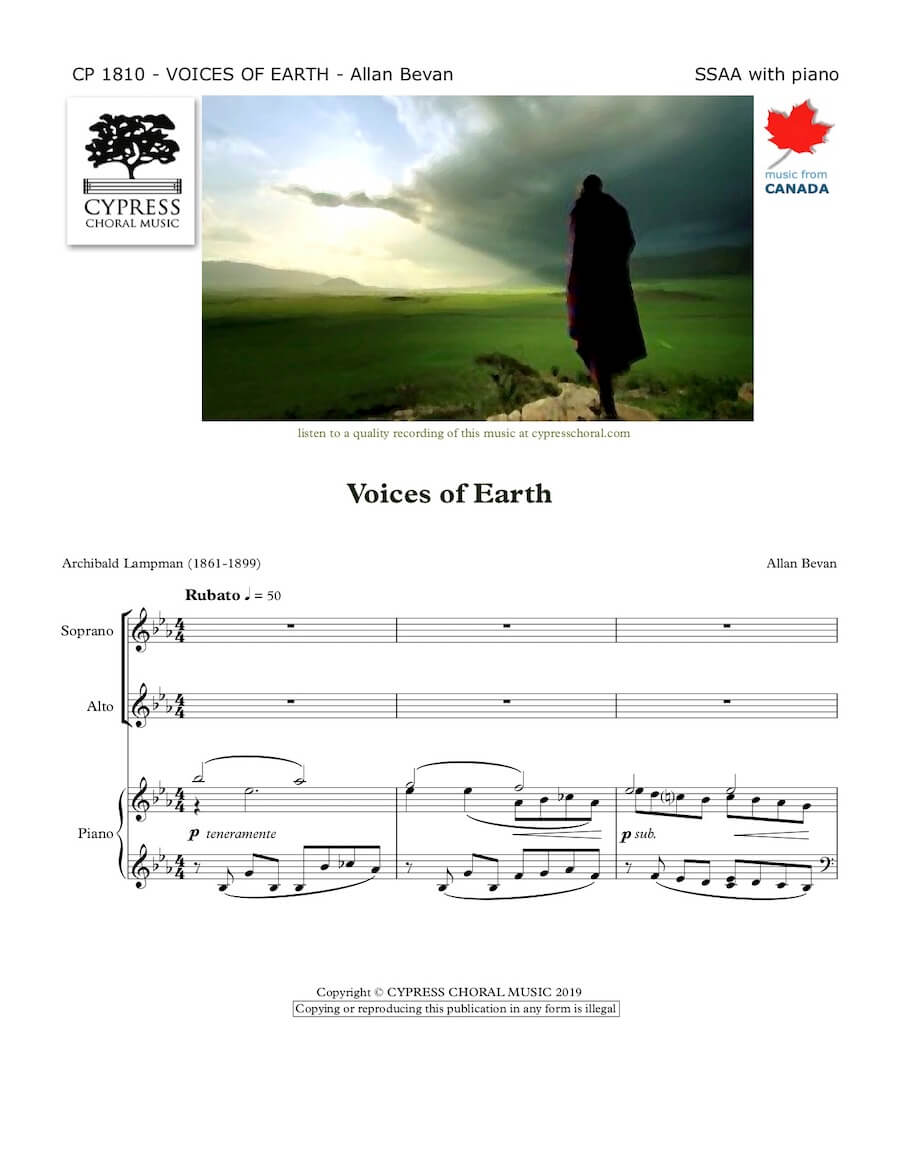 Picture of Voices of Earth