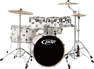 DW Pacific PDP X7 Series 7 Piece Drum Shell Pack