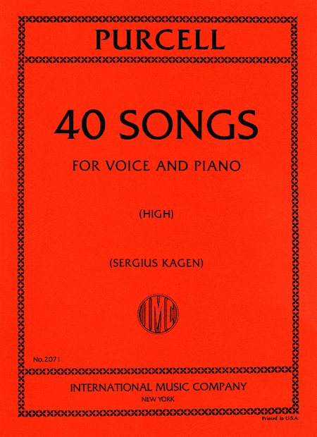 Picture of 40 Songs - High voice