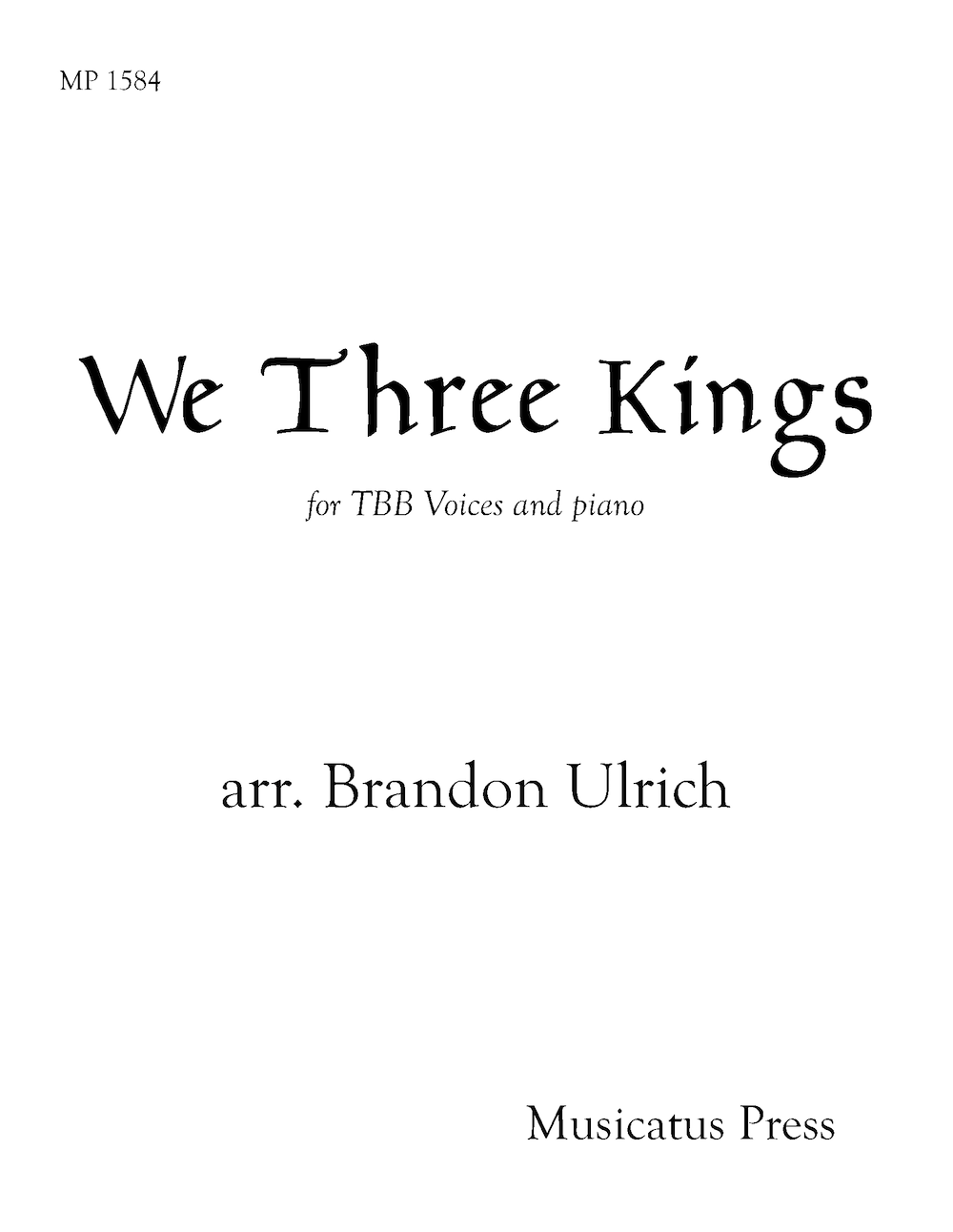Picture of We Three Kings