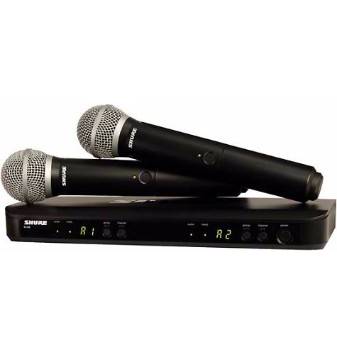 Shure., Shure BLX288/PG58 Dual-Channel Wireless System
