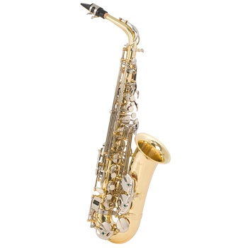 Selmer, Selmer Alto Sax Outfit with Nickel Plated Keys