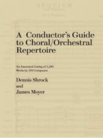 Picture of Conductor's Guide to Choral/Orchestral Repertoire
