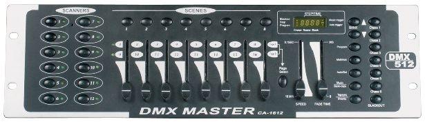 Dmx master ca-1612